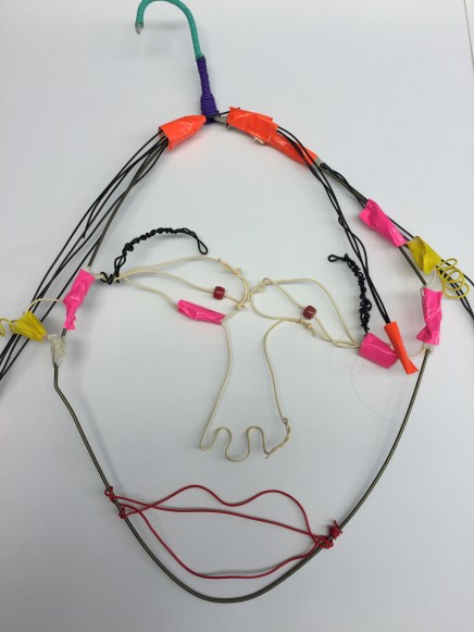 Calder wire portraits