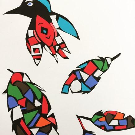 Raven Collage