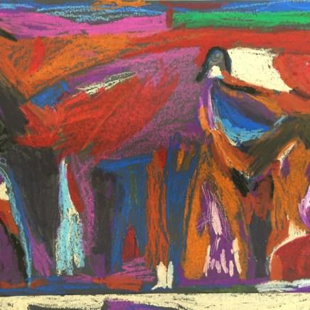 Chagall inspired art