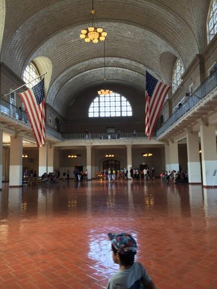 Ellis Island's Arrivals Hall