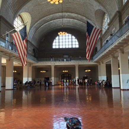 Ellis Island's Arrivals Hall