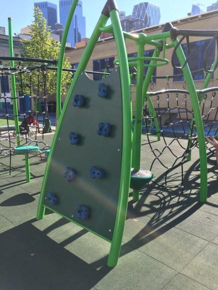 public school playground, Hell's Kitchen