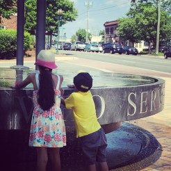 Memorial Day fountain shenanigans