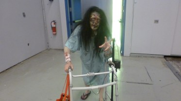 She was really scary