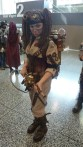Steampunk Ghostbuster. Sick proton pack.