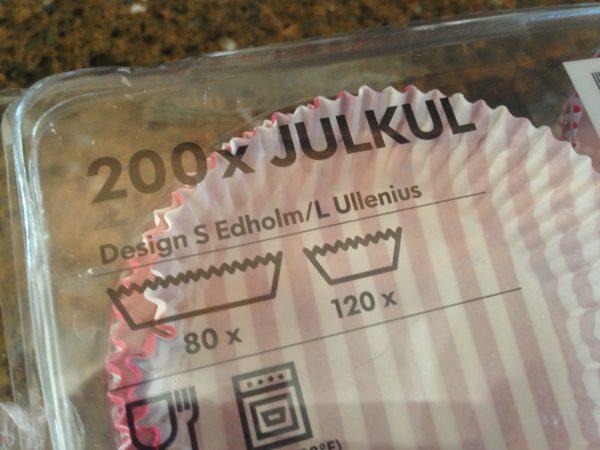 Ikea cupcake liners