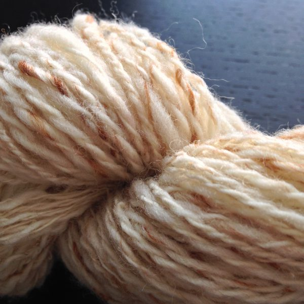 Closeup of skein