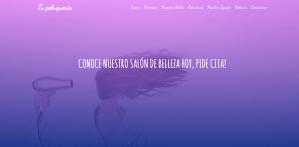 Diseño de página web y Branding o Marca profesional para Peluquerías