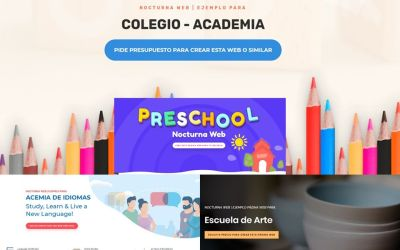 Renueva la Página web de tu Colegio, Centro de Estudios o academia
