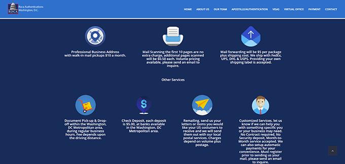 Modificación en Página web de empresa ROCA DC