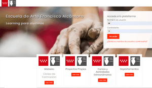 hacer plataforma e learning academia online
