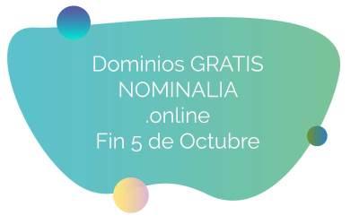 Dominios gratis en Nominalia
