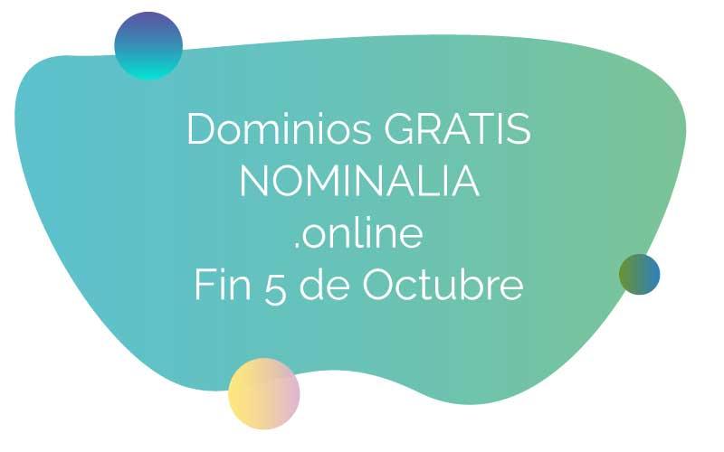 Dominios gratis Nominalia