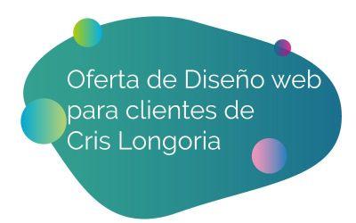 Diseño web para clientes de Cris Longoria
