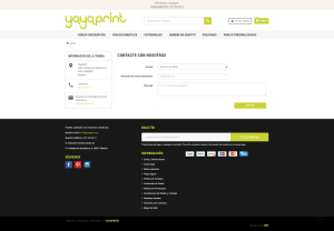 tienda ecommerce yayaprint prestashop