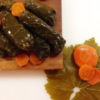 Yalangi (Stuffed Grape Leaves in Oil)