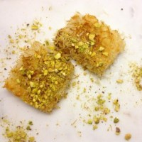 World's First: Vegan Knafeh!