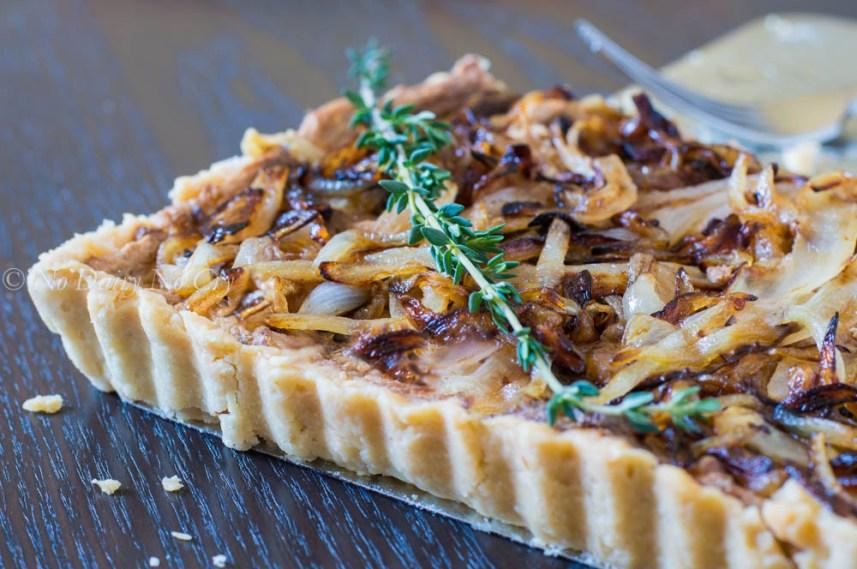 sweet onion tart