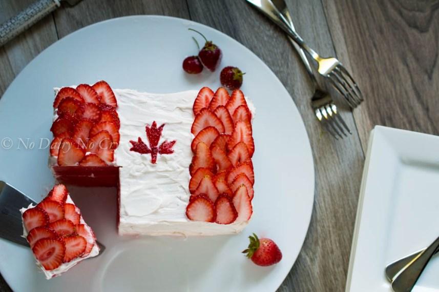 watermelon canada cake1