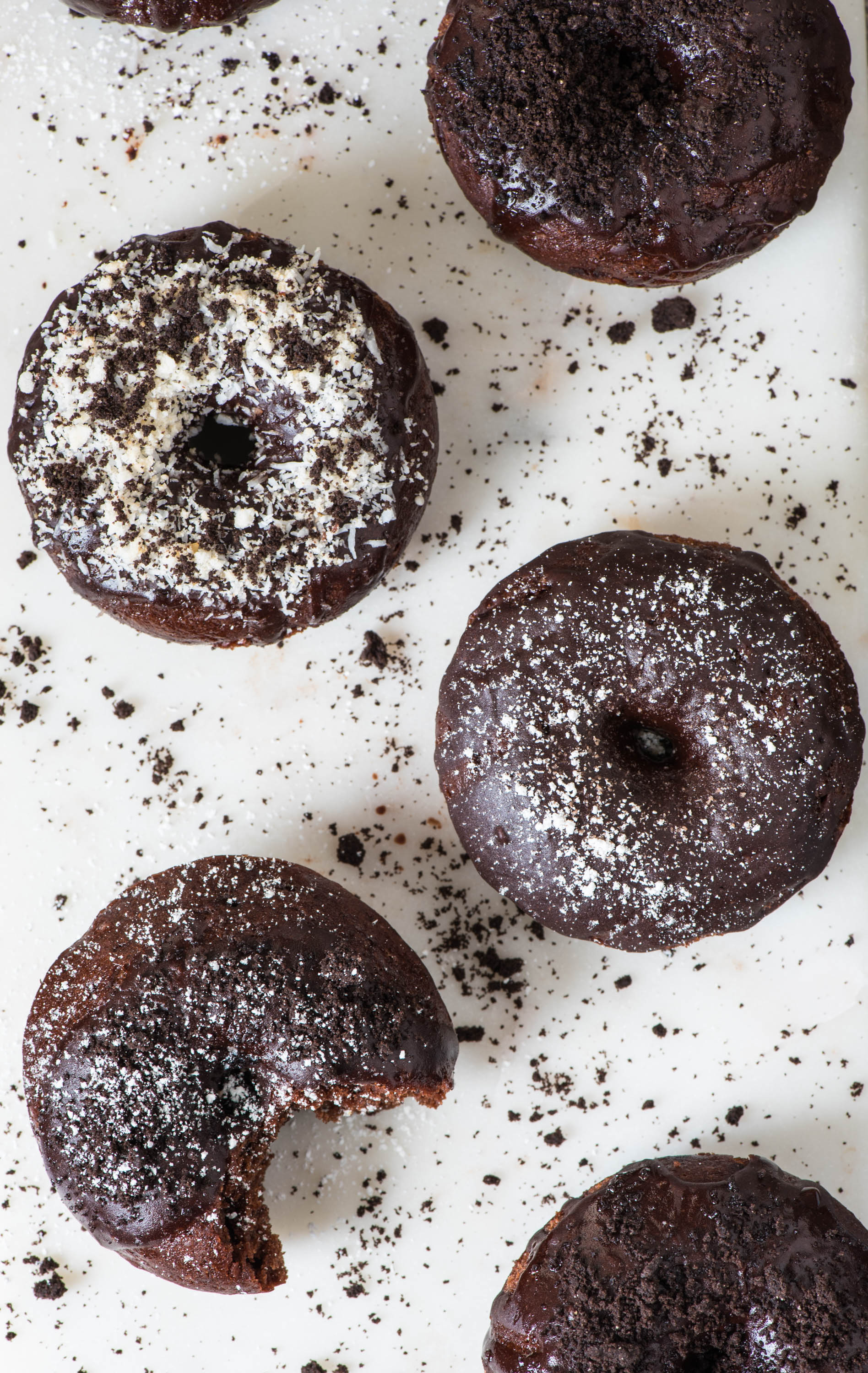 PERFECT Chocolate Pumpkin Donuts17