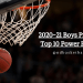 2020-21 Preseason Top 10 Power Rankings: Class B Boys