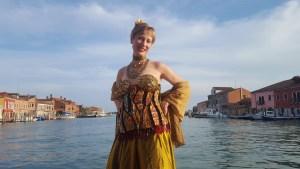 Glass Dress in Murano