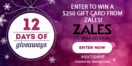 Win a gift card from Zales!