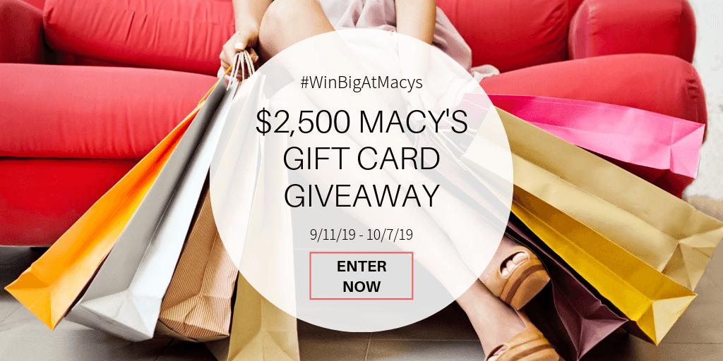 Win a $500 Macy's gift card!
