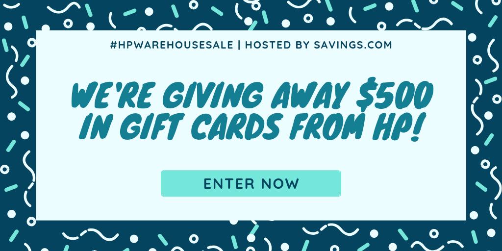 Enter to win a $100 hp gift card! 5 WINNERS! Open worldwide!