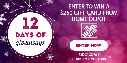 Win a gift card from Home Depot!
