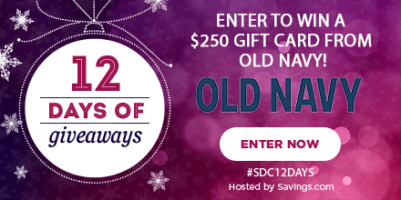 Win a gift card from Old Navy!