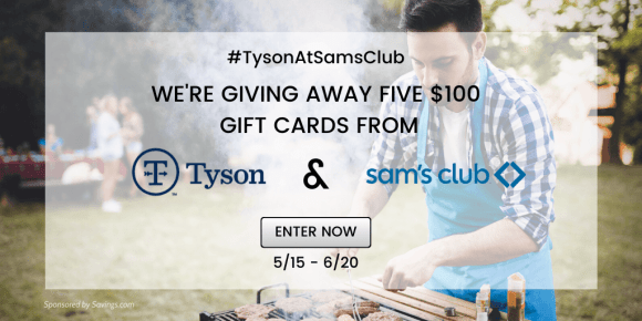 Win a $100 Sam's Club gift card!