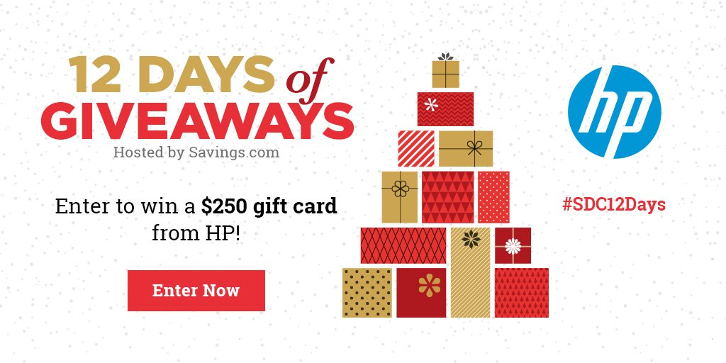 Win a $250 gift card from HP!