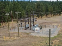FST Solar BC Hydro substation