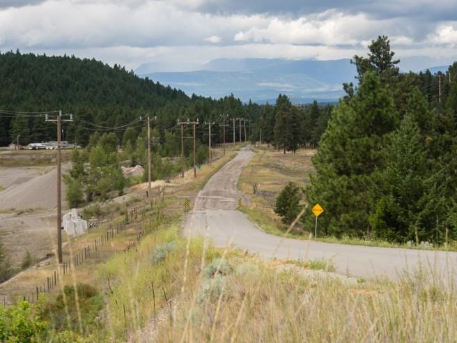 FST Solar Provincial gravel road