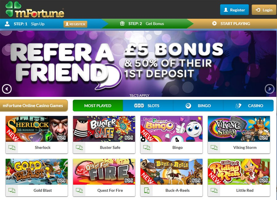 Online mobile casino free spins no deposit
