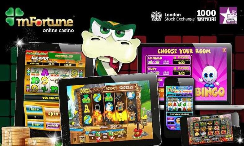 mfortune mobile casino no deposit bonus