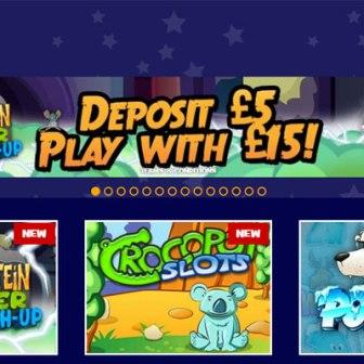 Mr Spin Mobile Casino - homepage