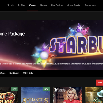MansionBet Casino - Homepage
