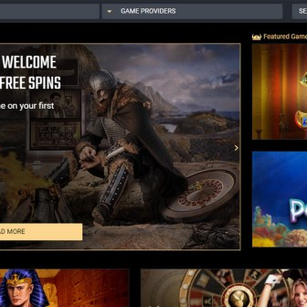 Viks Casino - Homepage