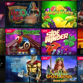 Volt Casino - Games