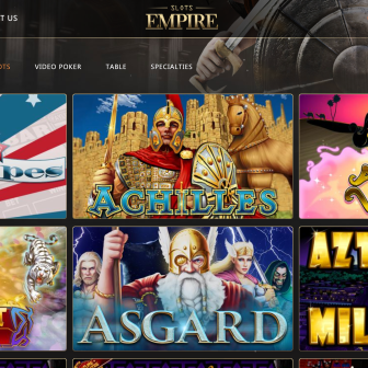 Slots Empire Casino - Games