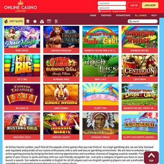 Online Casino London - Slots