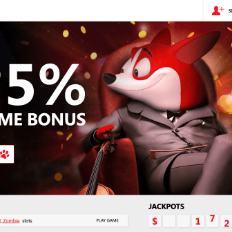 Red Dog Casino Homepage