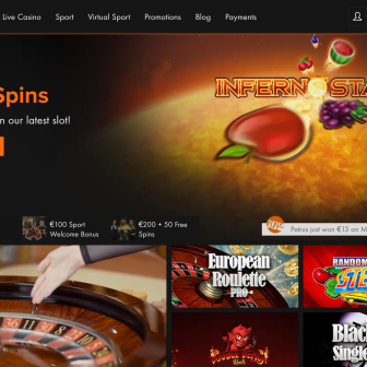 Casino Winner - Homepage