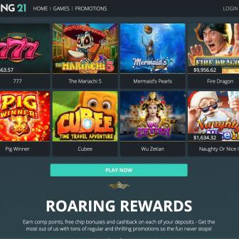 Roaring 21 Casino - Games