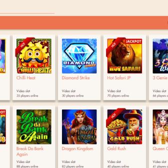 Extra Vegas Casino - games