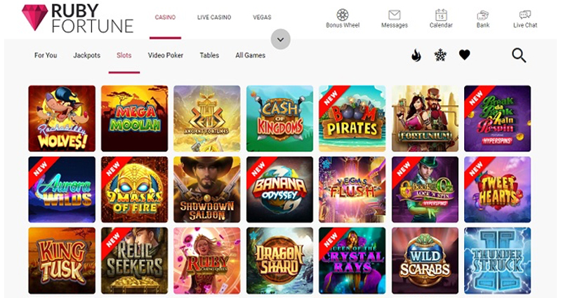 How to Locate a Free Ruby Fortune On line casino Slot Site