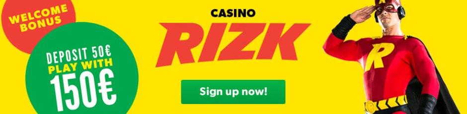 Rizk Casino banner