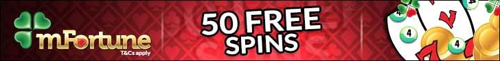 mfortune casino free spins no deposit banner